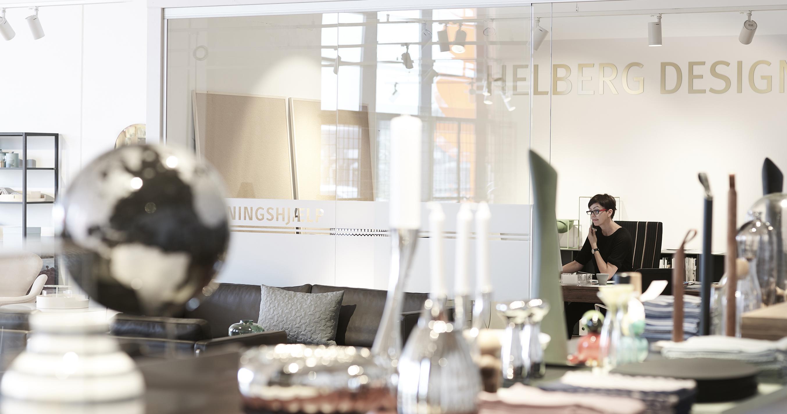 Indretningsarkitekt Susanne Helberg - hjælp til hjem og have.