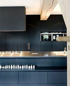 sort køkken