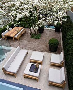 minimalistisk terrasse